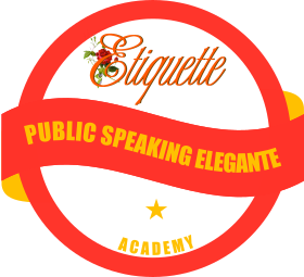 badge public speaking