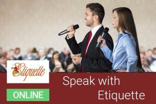speak etiquette 1