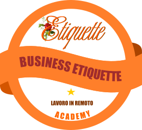 Business Etiquette lavoro in remoto