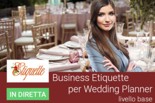 Business etiquette wedding planner base 1