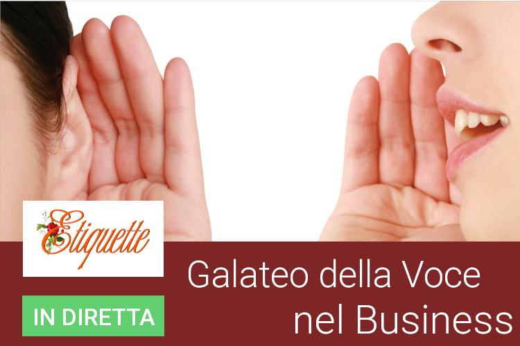 galateo della voce,voce nel business,immagine vocale,tipo di voce,voce leadership
